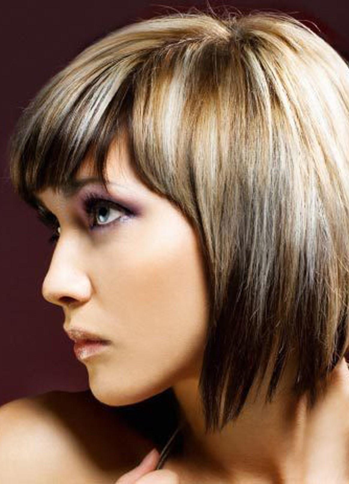 Мелирование для седых волос фото