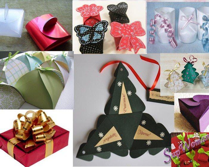Как сделать упаковка для новогодних подарков своими