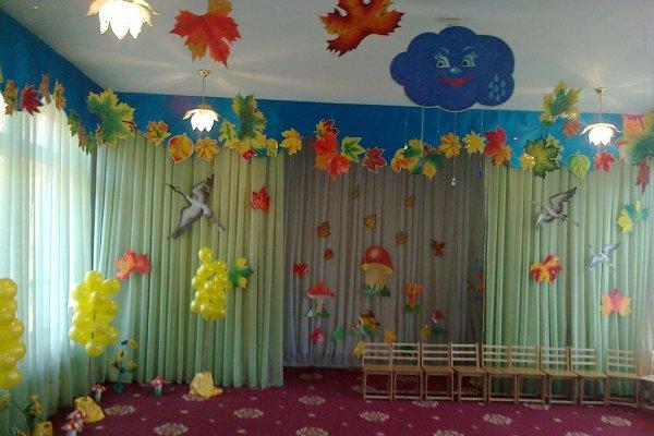 как украсить группу в детском саду своими руками фото