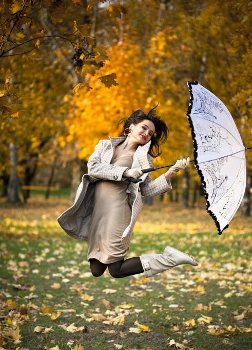 Идеи фото с зонтом
