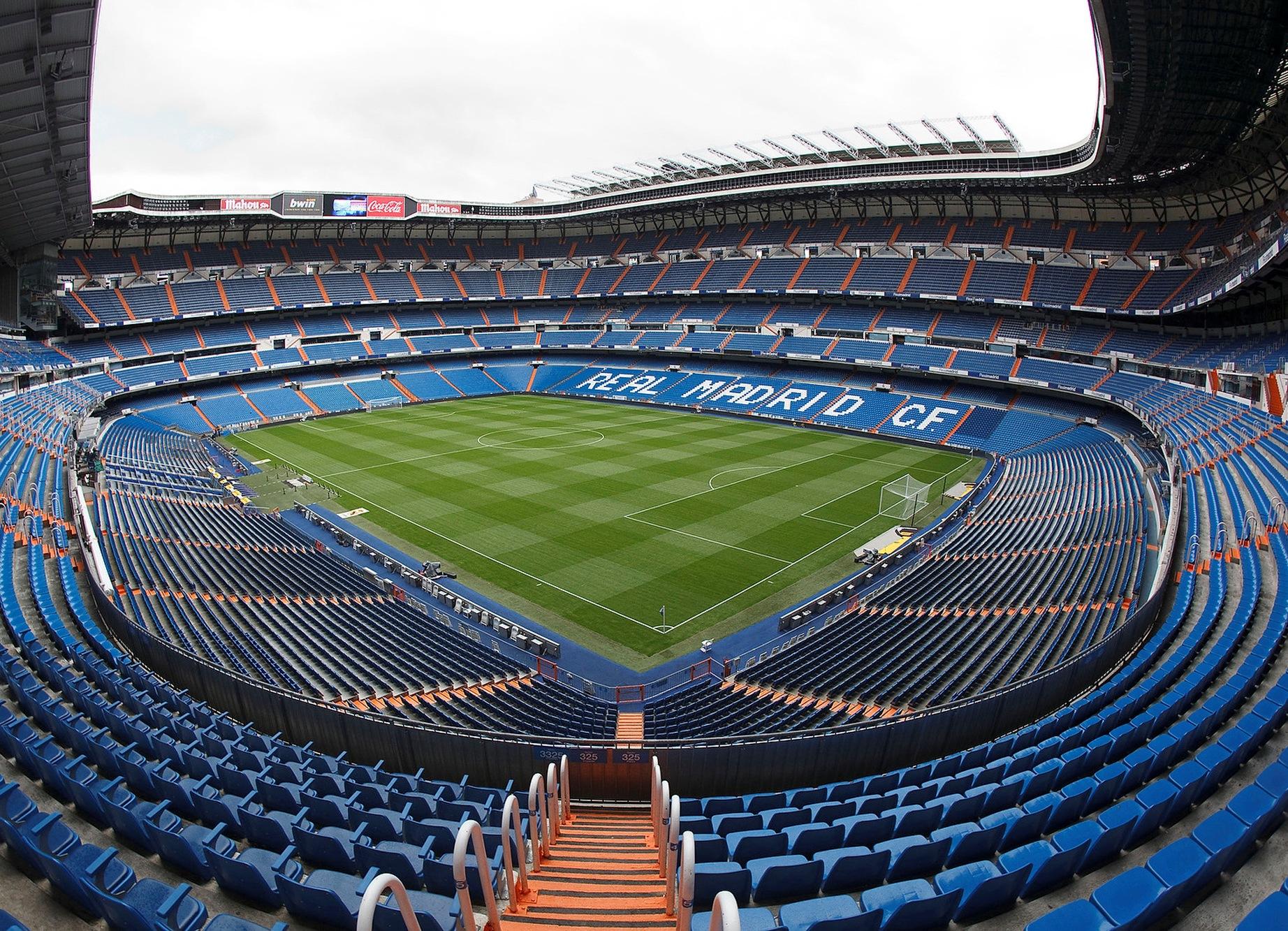 Сантьяго бернабеу схема стадиона