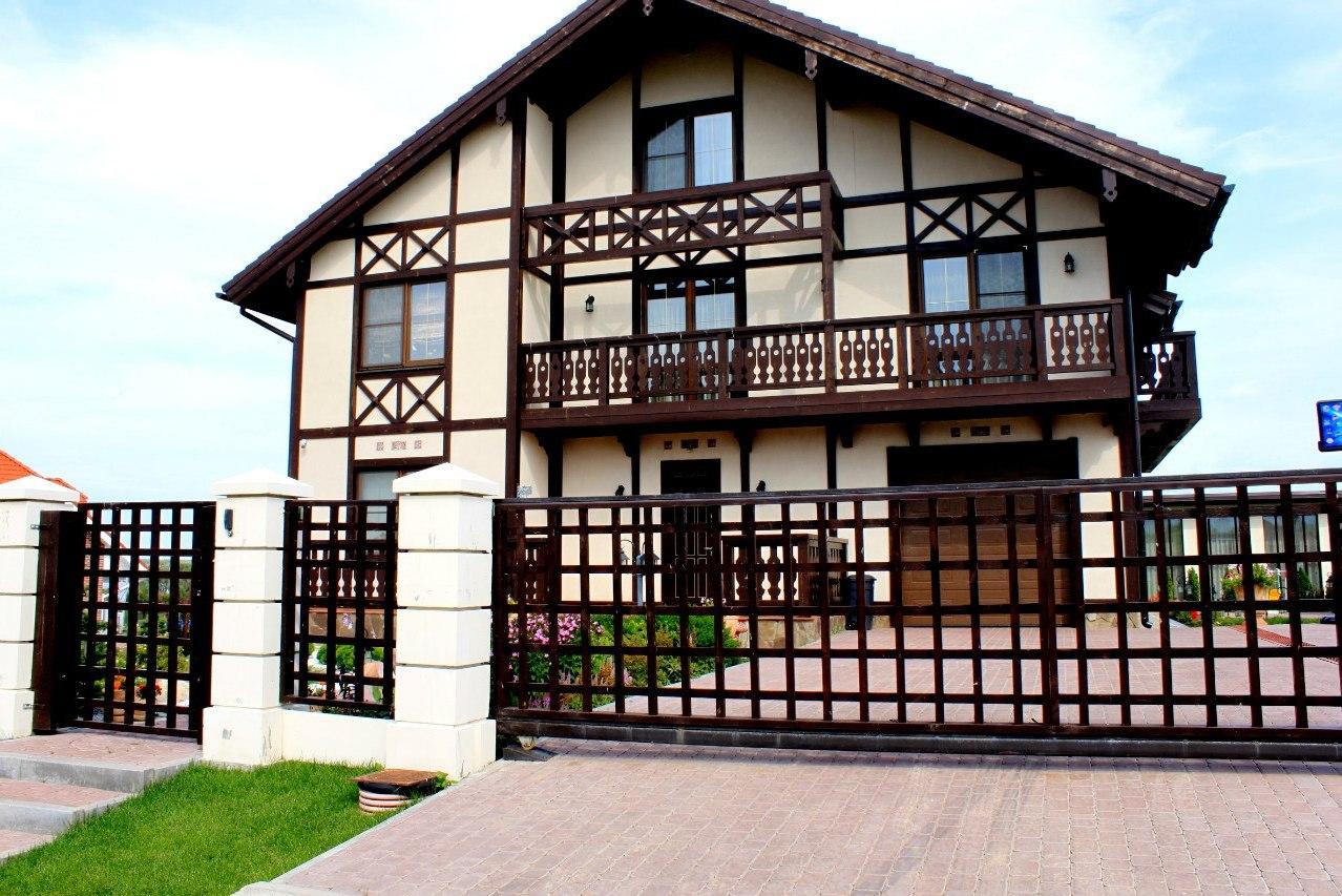 Дом в немецком стиле фахверк своими руками 56