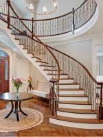 Отделка лестницы в доме