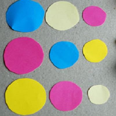 Оригами из кругов Поделки из бумаги своими руками для детей