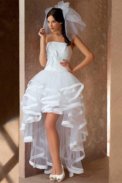Платья невесты откровенные