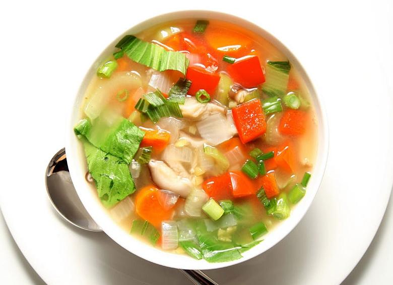 Диетический овсяной суп