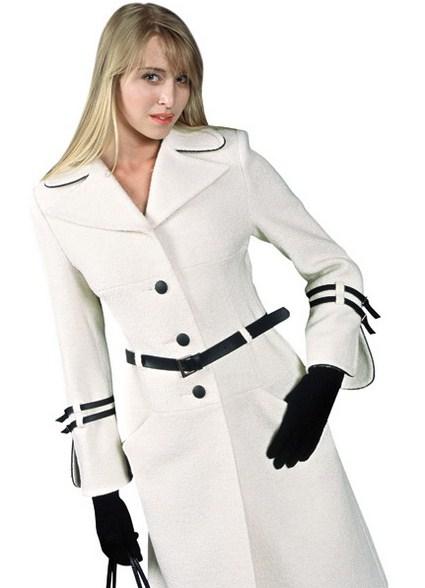 Весеннее женское короткое пальто (полупальто) белое - Купить в Харькове Весеннее женское короткое пальто (полупальто