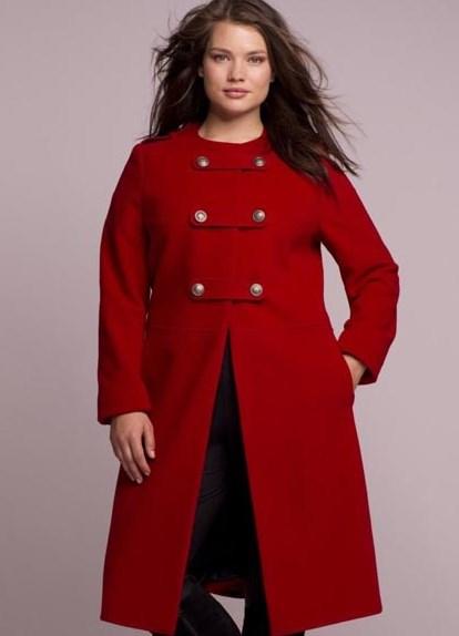 Пальто для полных женщин – это просто
