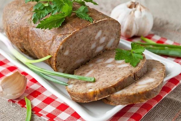 Печеночная колбаса в домашних условиях в пакете