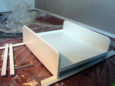 Как сделать пеленальный столик своими руками фото