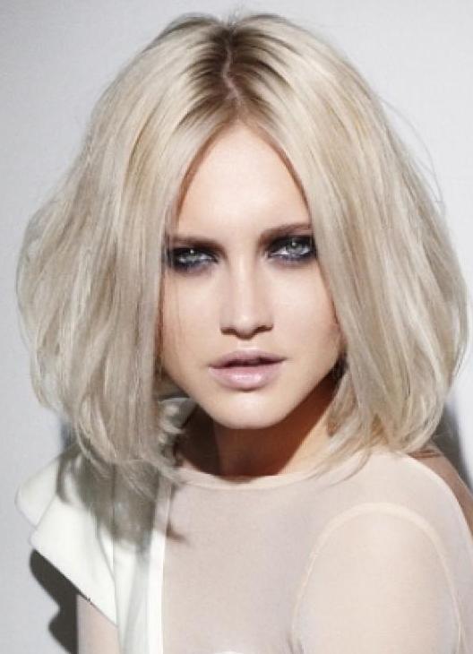 Белый цвет волос оттенки фото