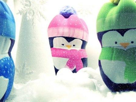 пингвины из пластиковых бутылок 10