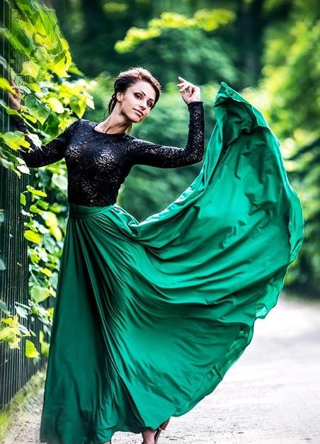 Фасоны платья для вальса на