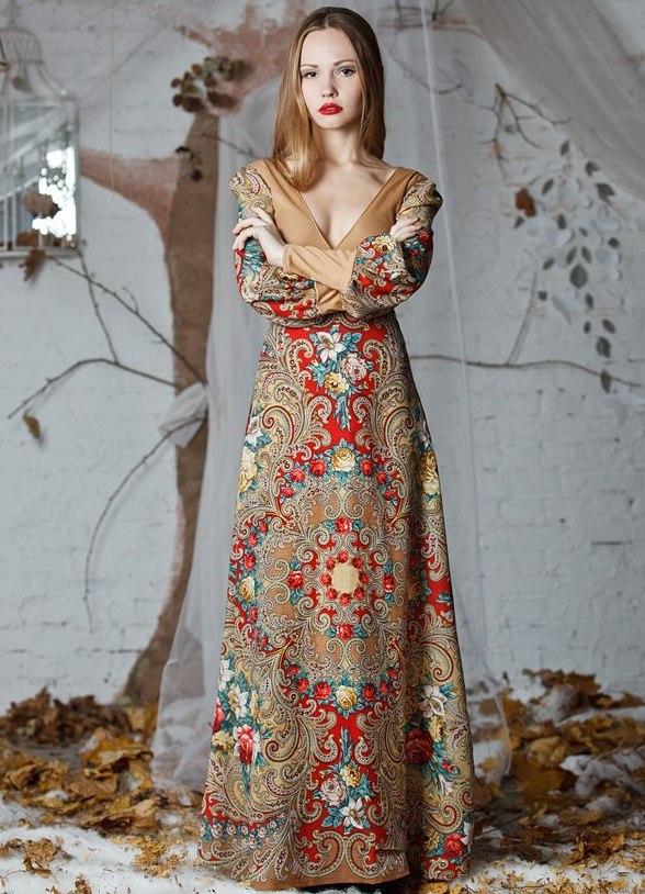 Платок платье купить