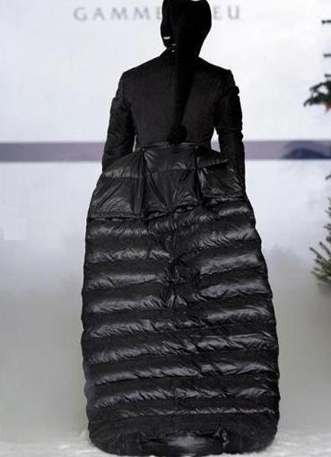 Платье пуховик171