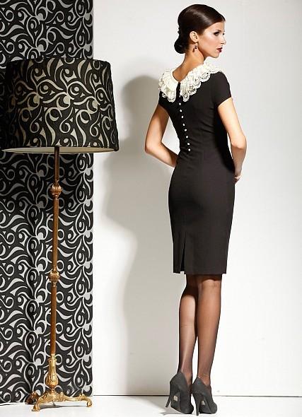Вечернее платье в стиле шанель