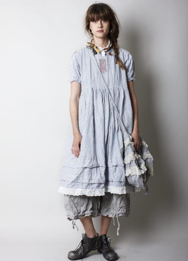 Boho стиль платья