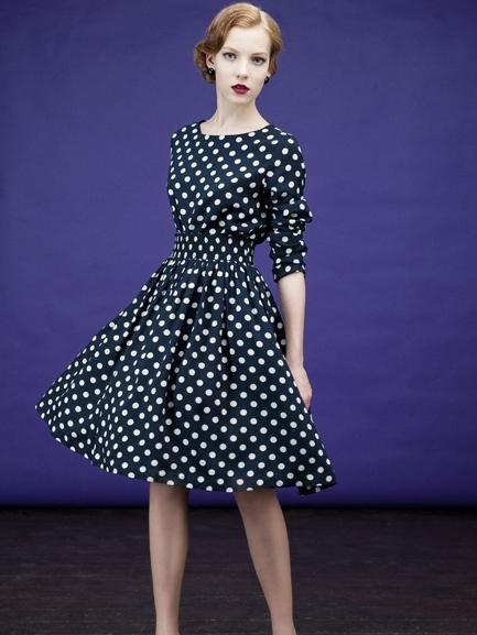Фото моделей платьев ретро