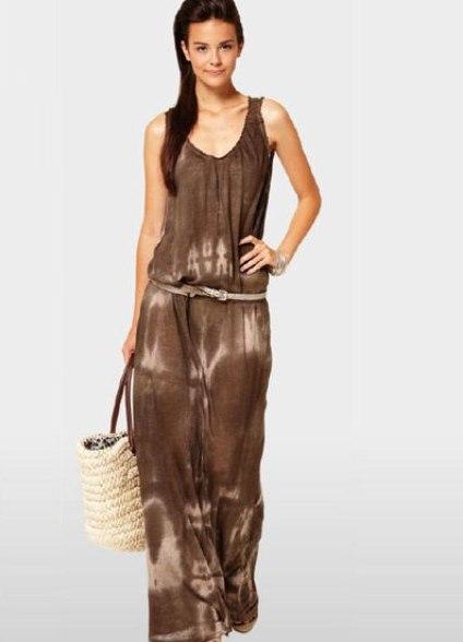 платья в стиле сафари отлично можно