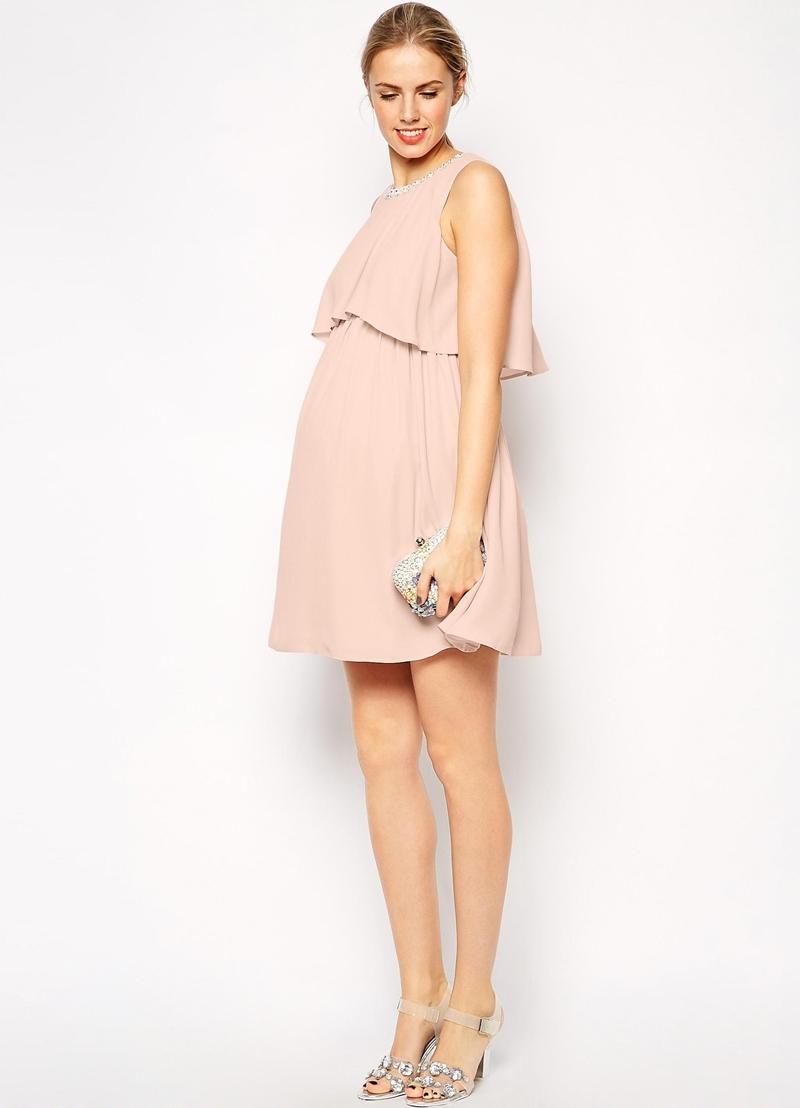 Платье скрывающее беременность фото
