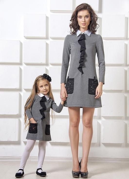 Платья для себя и дочери в одном стиле