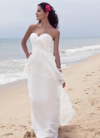 Скромное платье на роспись в