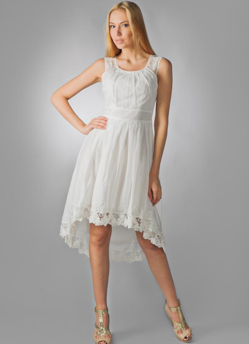 Модели платьев из батиста