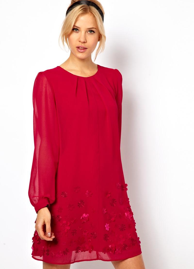 Летнее платье из крепдешина