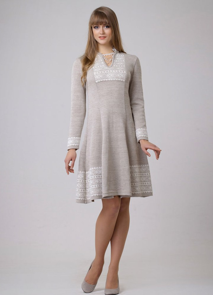 Красивые льняные платья фото