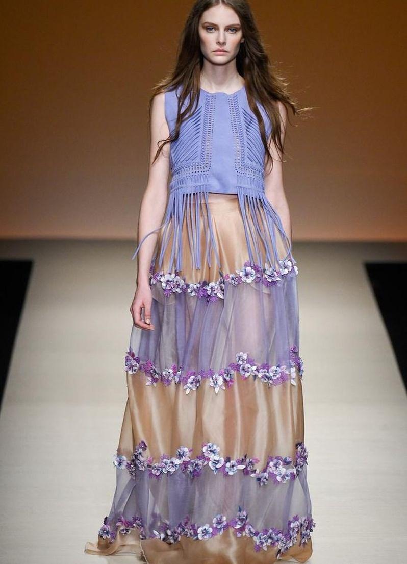 летние платья 2015 из шифона