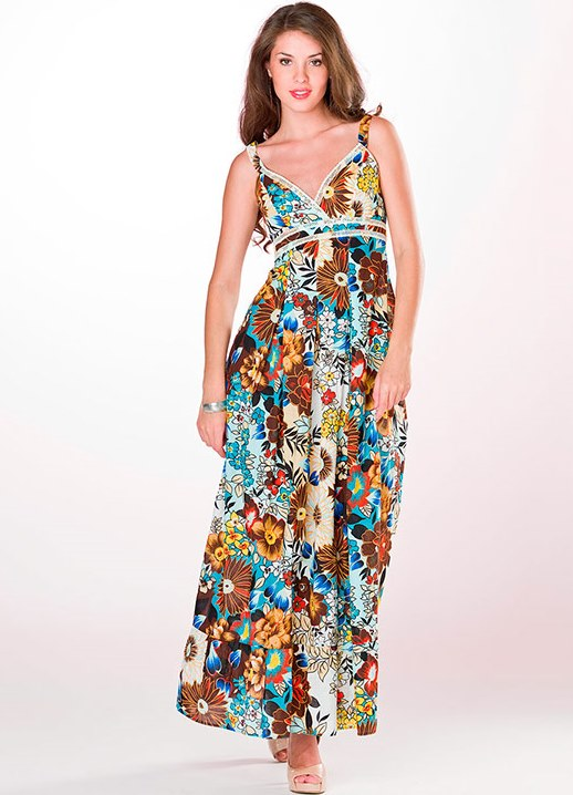 Платье сарафаны из штапеля