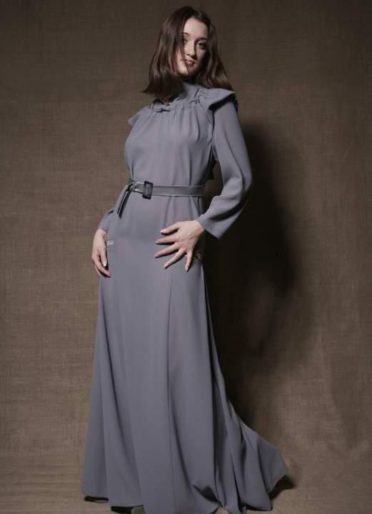 осенние платья фото длинные