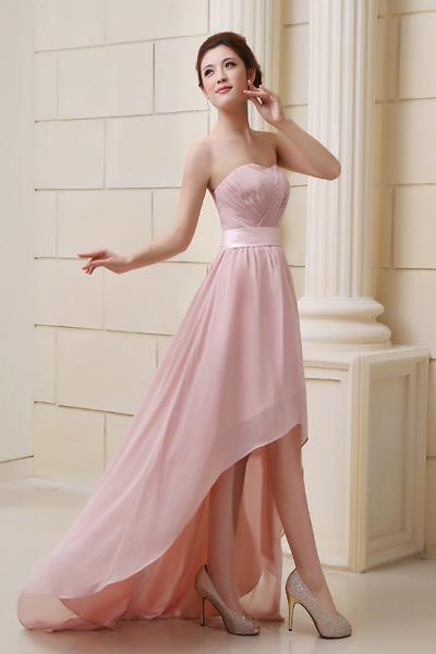 Платье длинное с хвостом