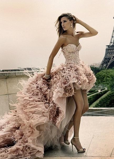 Выкройка платья на корсете с пышной юбкой