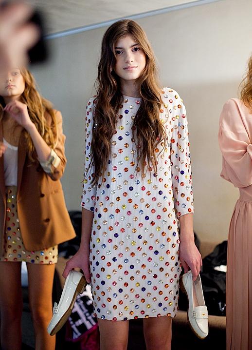 Платья в стиле 70 х годов 5