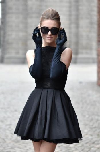 Вечерние платья стиле шанель
