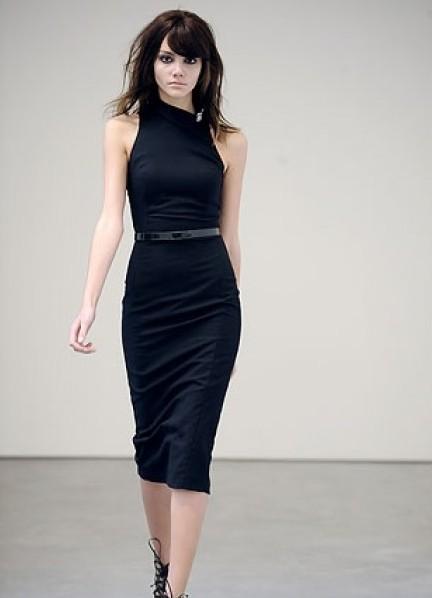 Вечерние платья ниже колена