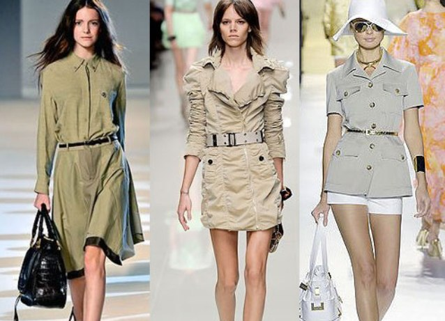 женская одежда милитари фото
