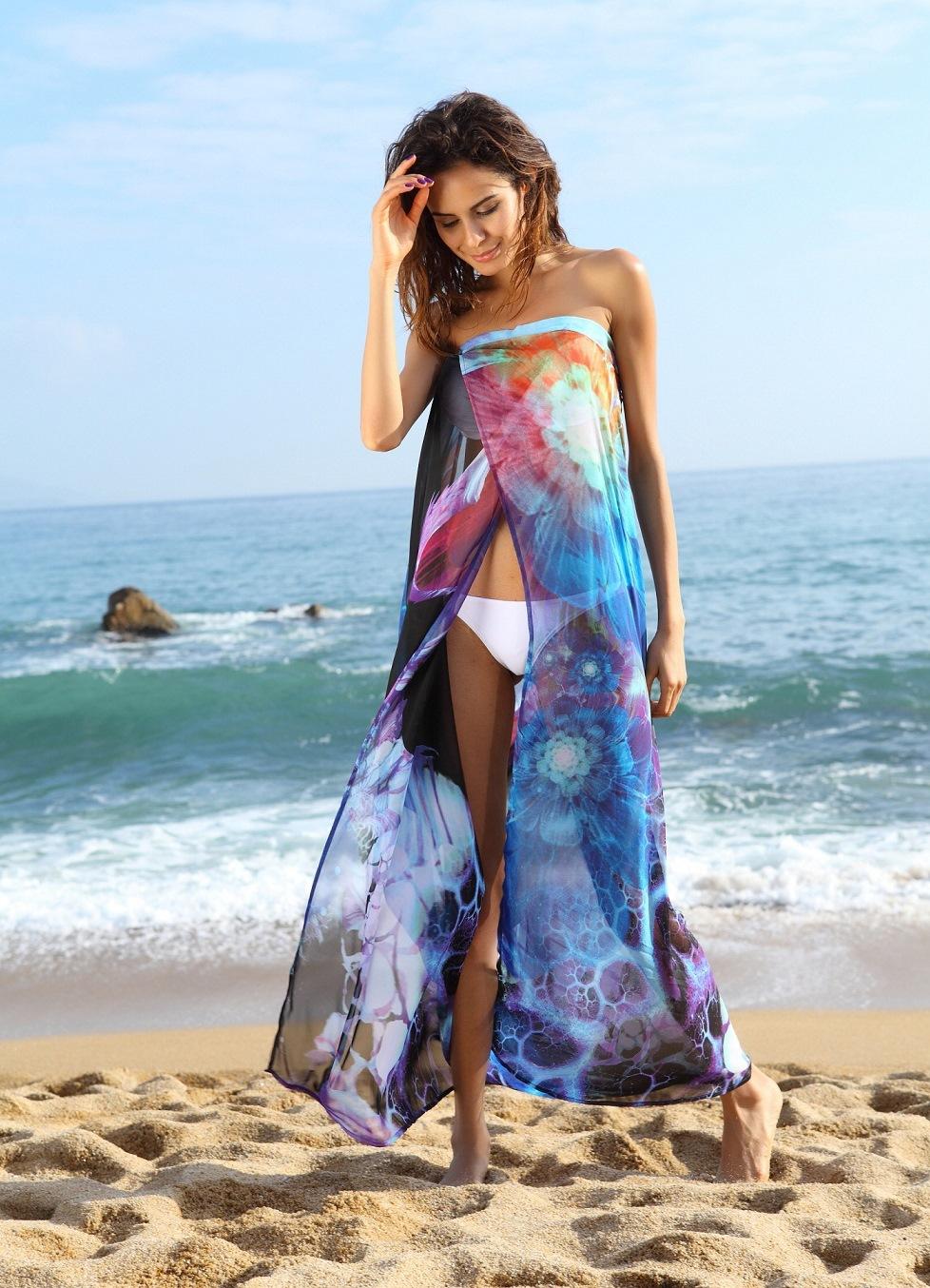 Пляжные платья и туники 2015