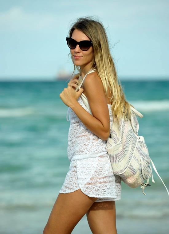Пляжная юбка из платка. сканворд