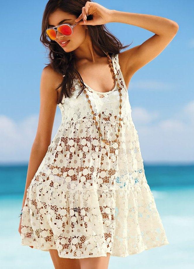 Пляжные сарафаны и платья