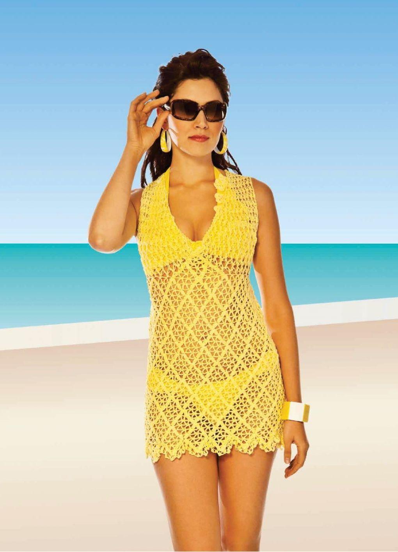 Купить Пляжное Платье На Полных