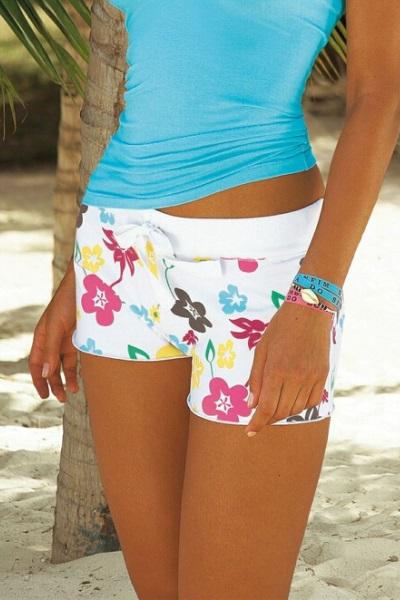 Пляжные девушки в коротких шортиках фото