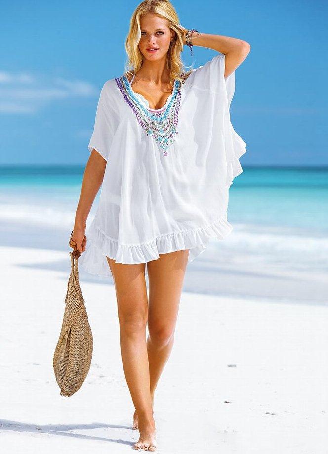 Парео на пляж