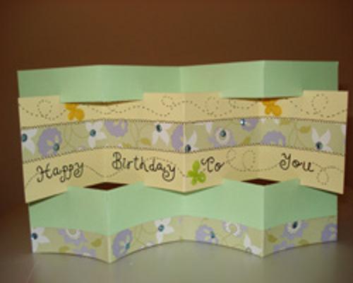 Какие сделать открытки на день рождения своими