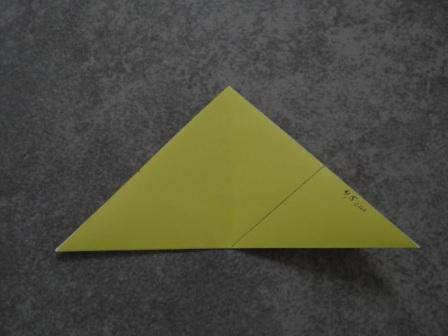 Как сделать цветы оригами - оригами тюльпан схема (13) .