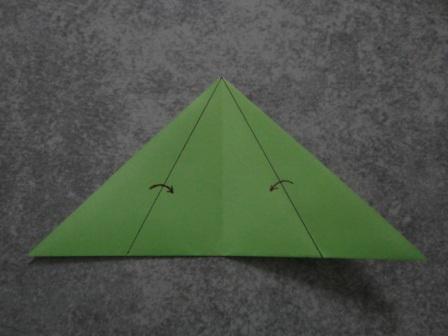 Как сделать цветы оригами - оригами тюльпан схема (11) .