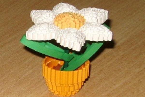 Цветы из гофрированного картона своими руками