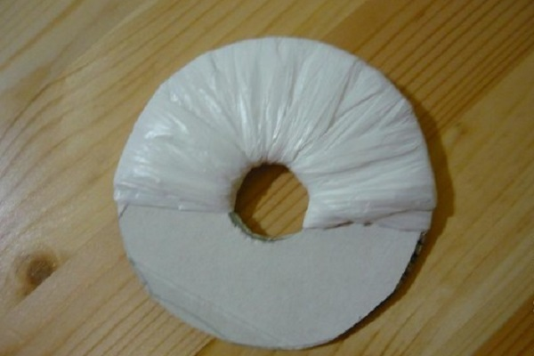 Поделки из полиэтиленовых пакетов