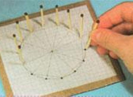 Как сделать колес из спичек 698